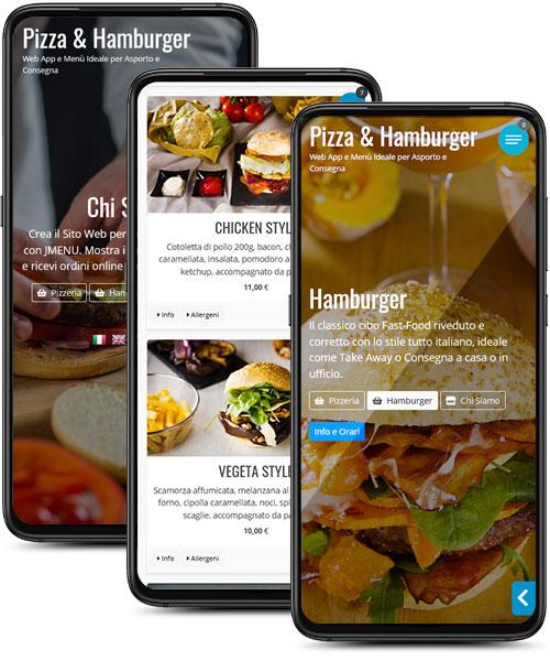 Pizza Burger da Asporto e Consegna